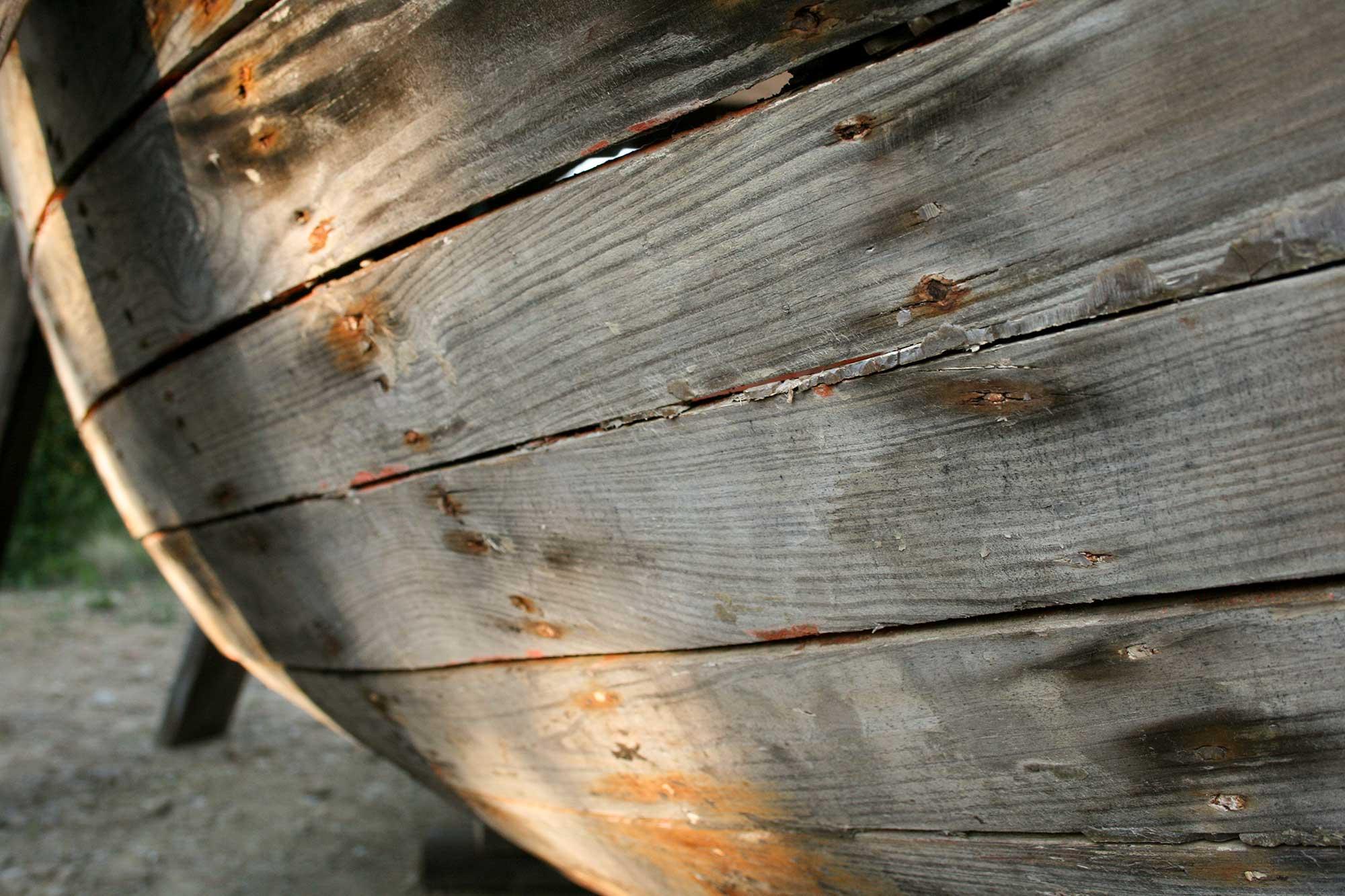 Planches de Bordé de pointu en pin