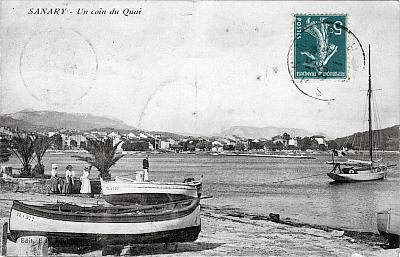 Sanary vers 1900, cartes postale ancienne
