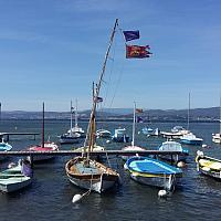 38 nœuds de Mistral sur la Lagune du Brusc