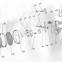 Éclaté du Carburateur Solex 26MHG
