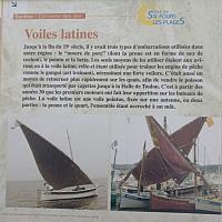 La voile latine