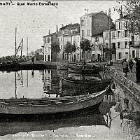 Sanary vers 1900, cartes postale ancienne